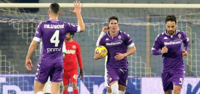 Vlahovic gol Fiorentina lapresse 2021 640x300