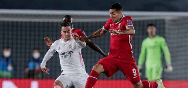 Lucas Vazquez Firmino Real Madrid Liverpool lapresse 2021 640x300