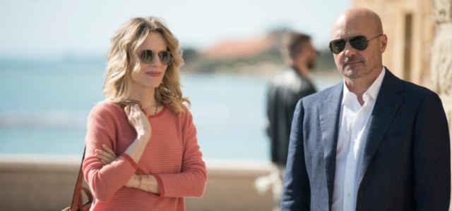 Salvo e Livia in una scena di 'Montalbano'