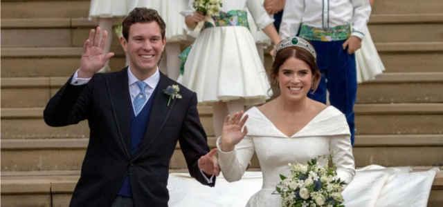 Il matrimonio della principessa Eugenia con Jack Brooksbank