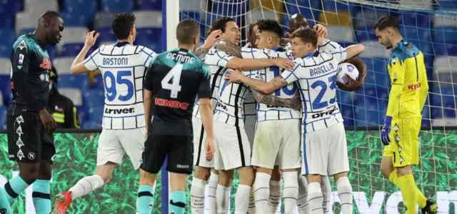 Inter esultanza Napoli lapresse 2021 640x300