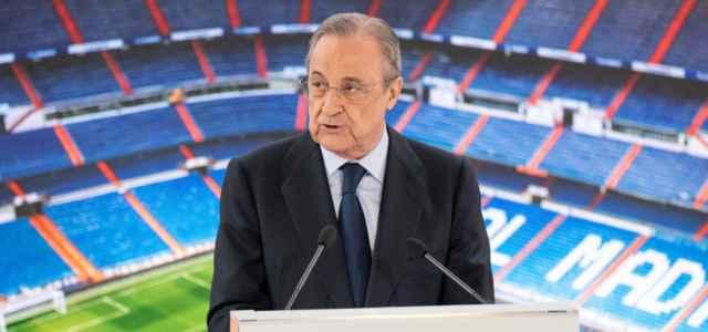 Florentino Perez Real Madrid lapresse 2021 640x300