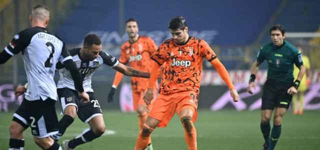 Morata Hernani Parma Juventus lapresse 2021 640x300