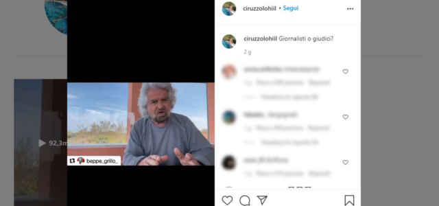 ciro grillo instagram 640x300