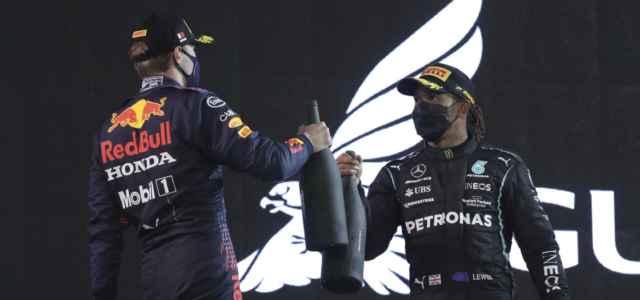 Verstappen Hamilton podio Formula 1 lapresse 2021 640x300