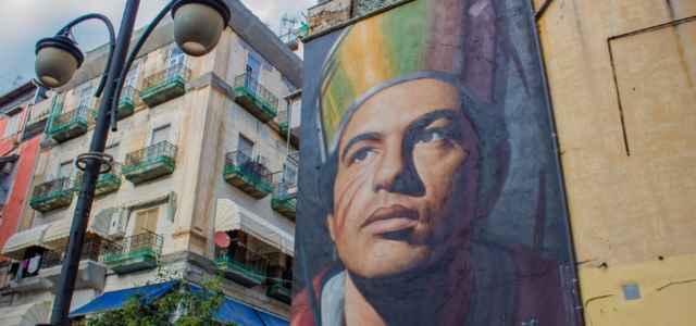 Street art Napoli Forcella quartiere forcella Napoli Napoli Campania Italia 640x300