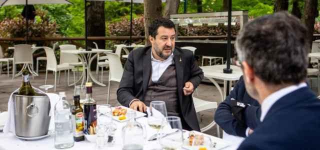 Salvini a Milano