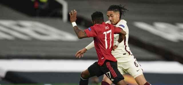 Fred Smalling Manchester United Roma lapresse 2021 640x300