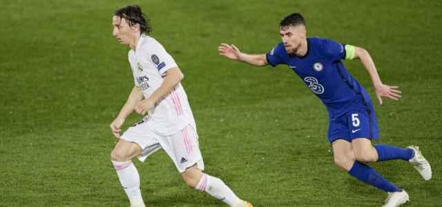 Modric Jorginho Real Madrid Chelsea lapresse 2021 640x300