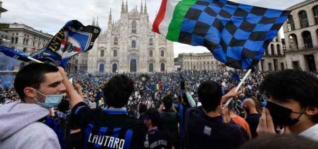 tifosi scudetto Inter