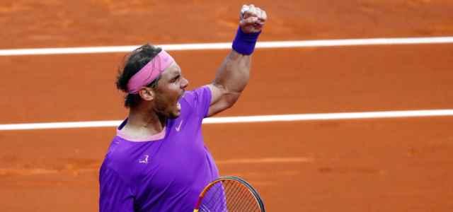 Rafa Nadal esultanza Barcellona lapresse 2021 640x300