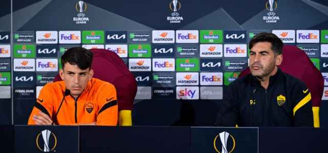 Ibanez Fonseca Roma conferenza stampa lapresse 2021 640x300