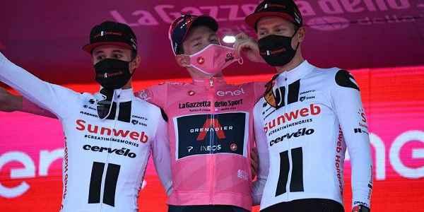 Giro d'Italia podio