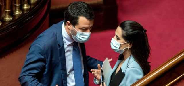Salvini e Ronzulli