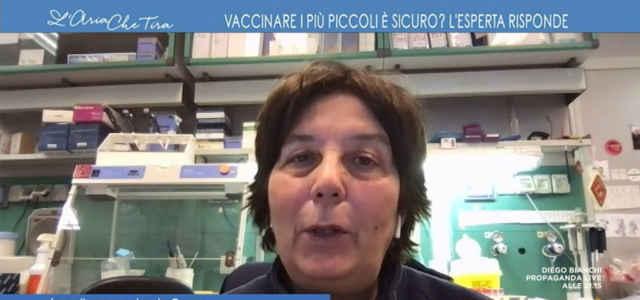 """L'immunologa Chiara Azzari a """"L'Aria che tira"""""""