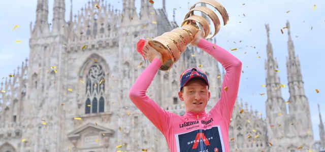 Giro d'Italia Geoghegan Hart