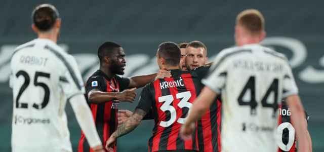 Milan esultanza Juventus lapresse 2021 640x300