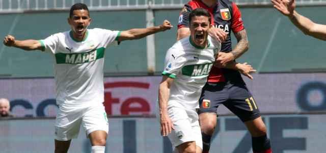 Raspadori esultanza Sassuolo Genoa lapresse 2021 640x300