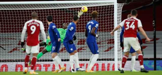 Arsenal Chelsea punizione lapresse 2021 640x300
