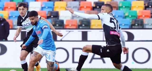 Insigne Becao Napoli Udinese lapresse 2021 640x300