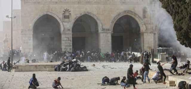 scontri a Gerusalemme