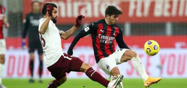 Brahim Diaz Rincon Milan Torino lapresse 2021 640x300