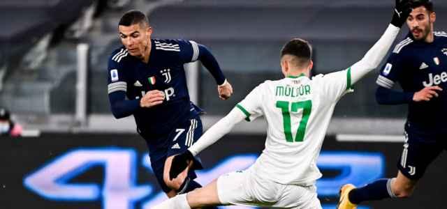 Ronaldo Muldur Juventus Sassuolo lapresse 2021 640x300