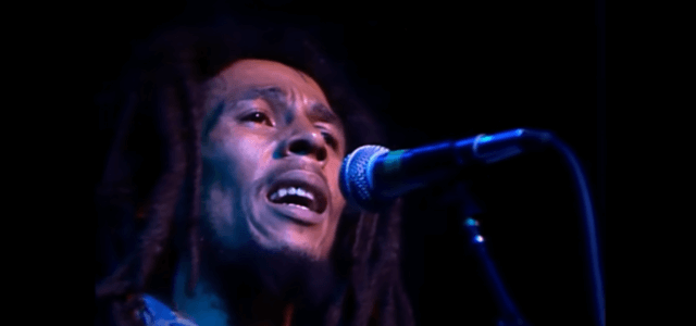 Dal video di No Woman No Cry (live), Bob Marley