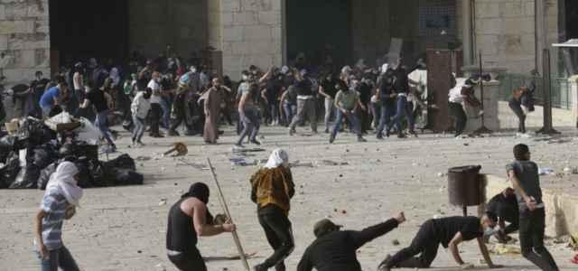 israele gerusalemme scontri spianatamoschee 1 lapresse1280 640x300
