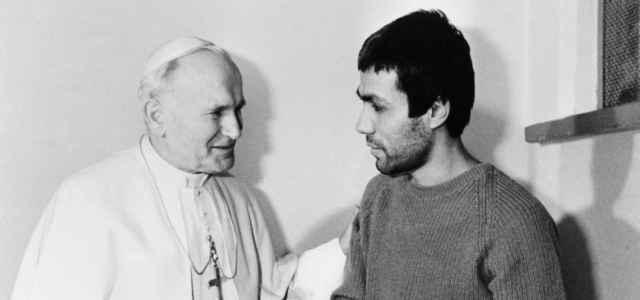 Ali Agca e Papa