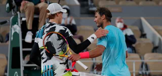 Sinner Nadal Roland Garros lapresse 2021 640x300