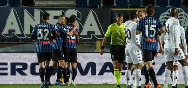 Atalanta gruppo gol Benevento lapresse 2021 640x300