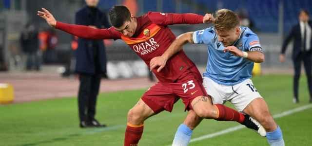 Immobile Mancini Lazio Roma lapresse 2021 640x300