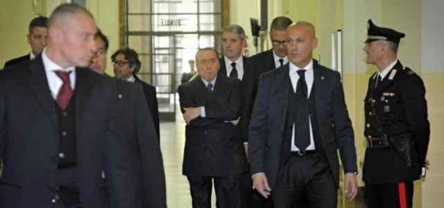 Berlusconi in tribunale