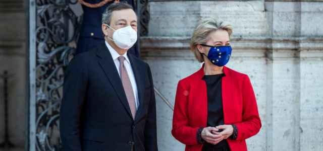 Draghi e Von der Leyen