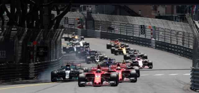 partenza Montecarlo Formula 1