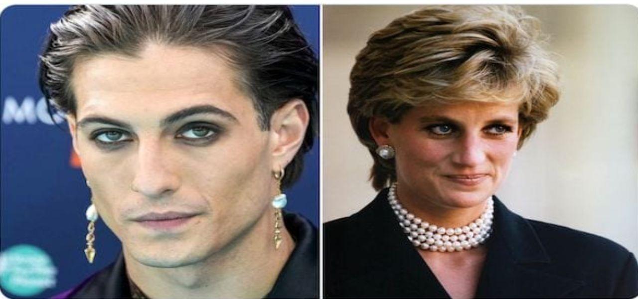 Damiano dei Maneskin e la somiglianza con Lady Diana/ Sui ...