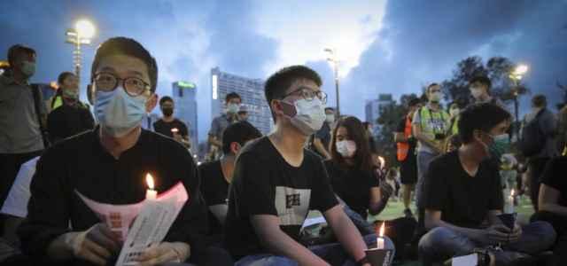 Hong Kong alleanza veglia