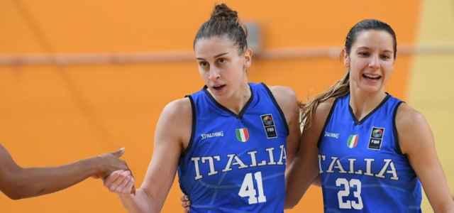 Italia basket donne esultamza facebook 2021 640x300