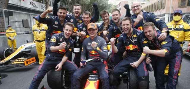 Max Verstappen Red Bull festa lapresse 2021 640x300
