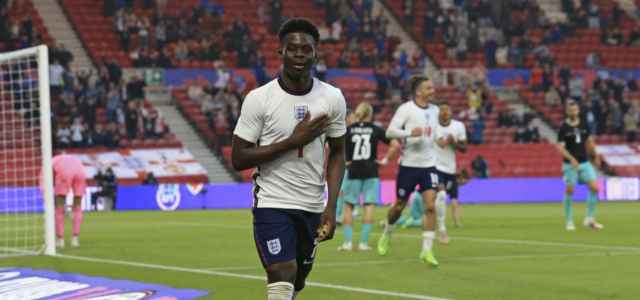 Bukayo Saka Inghilterra gol lapresse 2021 640x300