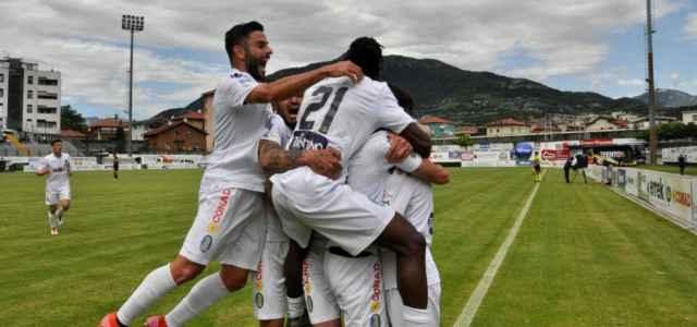 Trento gol esultanza facebook 2021 640x300