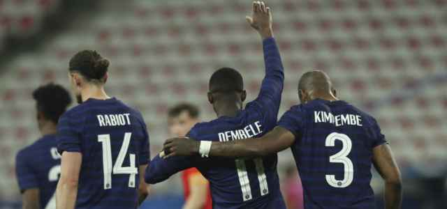 Rabiot Dembele Kimpembe Francia lapresse 2021 640x300