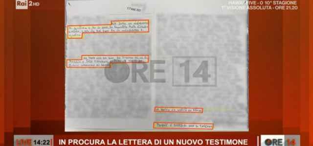 lettera testimone denise pipitone ore14 640x300
