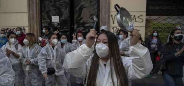 Cile Covid Proteste Lapresse1280 640x300