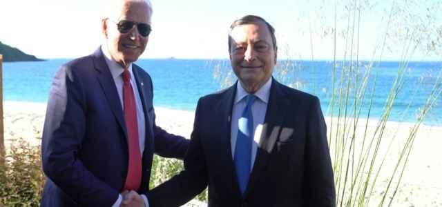 Draghi e Biden