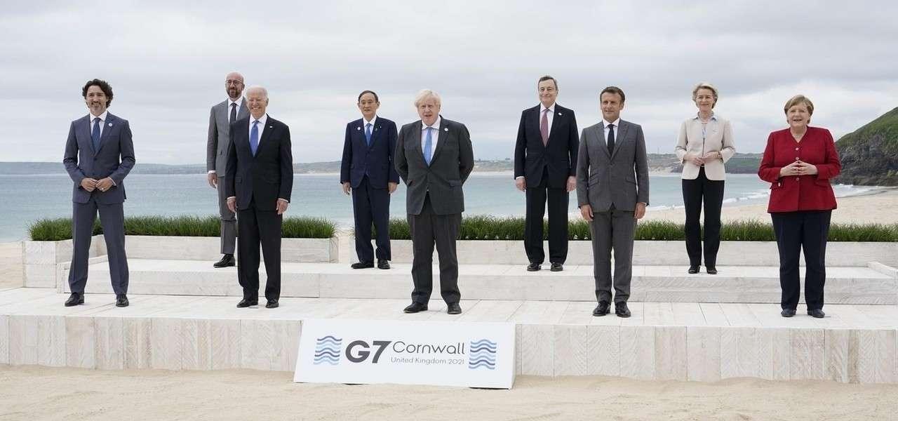 G7 Cornovaglia 2021 Lapresse1280