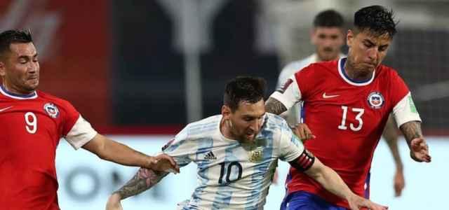 Messi Argentina Cile facebook 2021 640x300