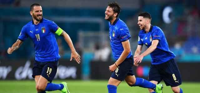 Locatelli Bonucci Jorginho Italia gol facebook 2021 1 640x300