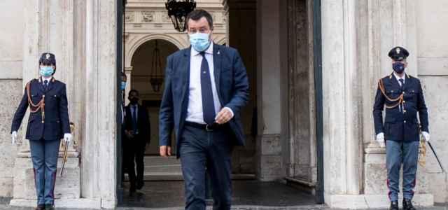 Salvini a palazzo Chigi